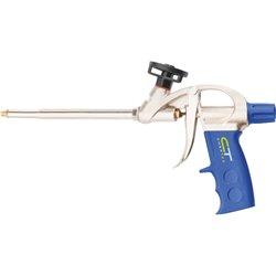 Пистолет для монтажной пены, усиленный алюминиевый корпус// СИБРТЕХ