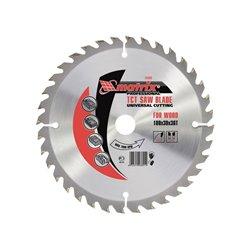 Пильный диск по дереву, 36 зубьев + кольцо 16/20 MATRIX Professional
